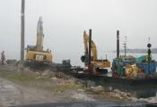 Dragage par Excavation Port Daniel Gaspé