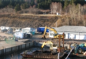 Dragage par Excavation Port Daniel Gaspé