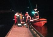 Sauvetage d'une personne disparue en mer