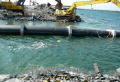 Underwater Instalation HDPE Pipe Line Intake  Port of Belledune