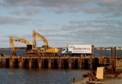 Wharf Repairs in Shippagan, NB
